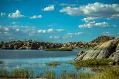 Willow Creek Resevoir (Carl Cohen_Pics) Tags: willowcreekresevoir granitedells prescott arizona yavapai lake granite marsh clouds autum fall nature naturephotography canon canon7dmarkii rocks