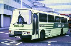Slide 122-44 (Steve Guess) Tags: croydon surrey greater london england gb uk bus kentishbus green line tiger leyland ecw coach wph131y tl31