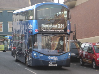 Go North East 6303 (NK16 BXC). Eldon Square Bus Station, Newcastle
