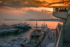 Split Marina (alejandroillan) Tags: sunset dusk croatia split ocean boats marina harbor moored canal pier 35mmf18