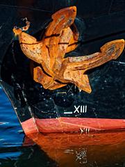 """Anker der Brigg """"Roald Amundsen"""" (alterahorn) Tags: dxo mzuiko75mm olympusmzuiko olympuspenf olympus balticsee ostsee mecklenburgvorpommern seehafenwismar wismar anchor anker maritim segelschiff zweimaster brigg traditionssegler traditionsschiff roaldamundsen"""