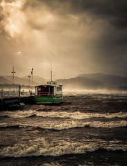 Ullswater storm (jasonhudson2) Tags: ali storm water ullswater boat drama waves mountains light lakedistrict landscape sony