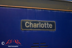 73141's nameplate (CS:BG Photography) Tags: shoebox class73 gbrf swml wat london waterloo londonwaterloo southwesternmainline nameplate 73141 charlotte gbrailfreight