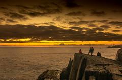 Atardecer, Los Molles, Región de Valparaíso (Mario Rivera Cayupi) Tags: losmolles naturaleza atardecer mar bokeh chile color nature sunset sea colour sky water ocean canon80d sigmaart sigma1835mmf18art