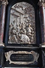 """Adoration des Rois Mages"", Tombeau de Johann Hugo von Orsbeck (1634-1711), archevêque de 1676 à 1711 et prince-électeur du Saint Empire, Cathédrale romane St Pierre (XIe), Trèves, Rhénanie-Palatinat, Allemagne. (byb64) Tags: trèves trier rhénaniepalatinat allemagne deutschland germany germania alemania rfa europe europa eu ue rheinlandpfalz rhinelandpalatinate renaniapalatinado renaniapalatinato tréveris treviri cathédrale cathedral catedrala dom duomo roman romanico romanesque romanesqueart artroman xie 11th moyenage medioevo middleages edadmedia stpierredetrrèves tombeau garve monument baroque baroco barocco artbaroque xviiie 18th roismages"