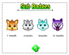 Web (sumunar823) Tags: wolf mascot esports sub badges