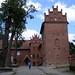Zamek krzyżacki w Olsztynku (obecnie szkoła)