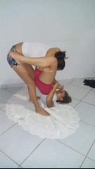 Jiu- jitsu girls (BLLLCCC) Tags: girls fight luta barefoot barefeet feet pés descalça baresoles soles solas technique pressure pressão pain painful martialarts bjj jiujitsu female feminino