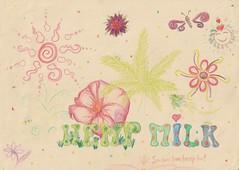 HEMP MILK (Project Flowers) Tags: hemp milk hempmilk legalise ecology vegan vegetarian veganism earthcare permaculture cannabis hempseed seed