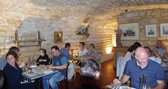 JLF16065 (jlfaurie) Tags: orphéon luzsaintsauveur à paris 14102018 france pyrénées chanteurs singers traditionels chants songs pirineos pays toy daniel mariefrance mechas mpmdf jlfaurie jlfr pentaxk5ii cantantes orféo group singing church eglise saintthomasdacquin santotomasdeaquino restaurant 11 ruexavierprivas barrestaurantle11