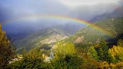 L'automne est là ! (watbled05) Tags: automne arbre ciel couleurs arcenciel extérieur feuilles hautesalpes montagne nuages paysage vallouise
