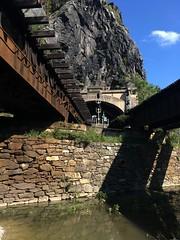 Harper's Ferry Bridges (batterymillx) Tags: harpersferry harpers ferry wv west virginia westvirginia outdoor park nationalpark national river potomacriver potomac shenandoah shenandoahriver