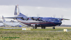 URCZZ Antonov An-12 Ukraine Air Alliance (Anhedral) Tags: einn snn shannonairport airplane urczz antonov an12bp ukraineairalliance ukl ukl5078 transport soviet