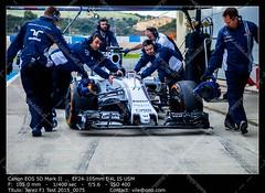 Formula 1 Test Jerez 2015 (__Viledevil__) Tags: f1 fia jerez test 2015 cadiz spain race car pilot racetrack asfalt tyre