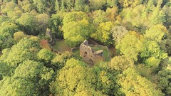 Ewloe Castle (Rob Pitt) Tags: wepre park ewloe castle autumn valley wales north leaves cymru outdoor landscape forest tree parrot anafi drone video