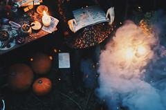 wicca IV (AzureFantoccini) Tags: bjd doll abjd balljointeddoll granado ozin5 emon eva wicca forest magic witch witchcraft dollroom miniature diorama october halloween creepy