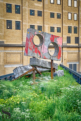 Art on Highline Phylidda Barlow Prop (Singing With Light) Tags: 2018 7th a7iii highline mirrorless nyc singingwithlight sonya7iii august morning photography signs singingwithlightphotography sony