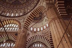 10082011-IMGP1052 (Mario Lazzarini.) Tags: moschea camii edirne turchia turkey sinan selimiye archi cupole interni architettura arte historic islamica old