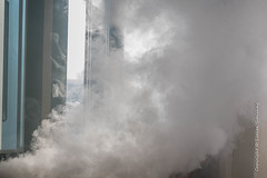 Smoke simulation (Lucien Schilling) Tags: protection workplace healthsafety equipment wellbeing luxembourg lu