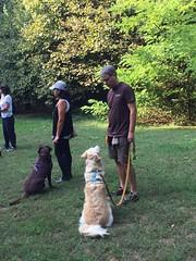 Dea ed Happy partecipanti passeggiata del 23/09/2018