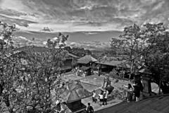 Steps of Kiyomizu Temple (tacosnachosburritos) Tags: kyoto ancient kiyomizudera tourists thestreets street photography man guy girl woman lady chick kimono turning japanese japan shops shopping road pretty beautiful lovely people asian humanity landscape