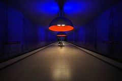 Westfriedhof (karinavera) Tags: city night photography urban ilcea7m2 station metro munich westfriedhof bahn train