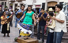 Dancing, Queretaro (klauslang99) Tags: klauslang dancing dance music band instrument lay people city queretaro mexico