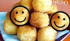 bolitas de patata con queso,ideales para los niños o aperitivos (tone_michel) Tags: recetas de cocina
