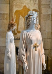 Baptism Gown (KaDeWeGirl) Tags: newyorkcity manhattan metropolitanmuseumofart thecloister baptism gown heavenlybodies