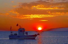 Hora dorada en El Cabo de Gata, Almería (eustoquio.molina) Tags: hora dorada barco boat cabo gata almería