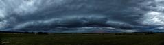 Thunderstorm (Sandra Hieber) Tags: germany weather tree unwetter sturm storm canon regen rain clouds wolken sky thunderstorm gewitter landscape himmel feld landschaft baum gras landstrase berg wald bedeckt
