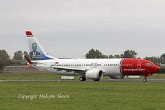 B737 MAX8 EI-FYI NORWEGIAN (shanairpic) Tags: jetairliner b737 boeing737 max8 shannon irish norwegian eifyi