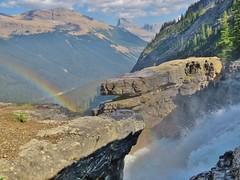 Brink of Twin Falls, Yoho National Park (wldrns) Tags: twinfalls yohonationalpark canadianrockies britishcolumbia backpacking hiking whaleback