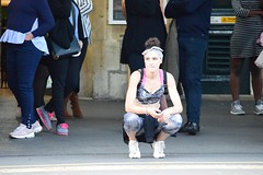 Keeping fit (jan.ashdown) Tags: people exercise keepfit gym fitness woman streetphotography street