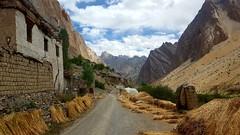 Passing through Hunapatta village
