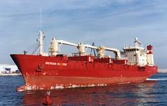 Temporada de naranjas (Jose Miralles) Tags: reefer vessel ship buque frigorifico grao