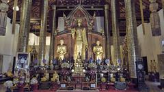Wat Chedi Luang (Crisologo) Tags: thailand chiangmai templo buda tailandia religion templee statue watchediluang travel viaje