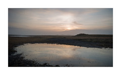 Abendstimmung (W.Utsch) Tags: landscape sunset iceland leica mediumformat lake sky dust