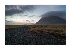 You Can Leave Your Hat On (W.Utsch) Tags: landscape iceland leica mediumformat sunset clouds mountain road