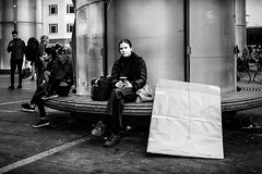 Images on the run.... (Sean Bodin images) Tags: streetphotography streetlife strøget seanbodin nørreport people photojournalism photography copenhagen citylife candid city citypeople