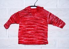 Hoodie (Winterbound) Tags: knitting hooded children handmade handknitted