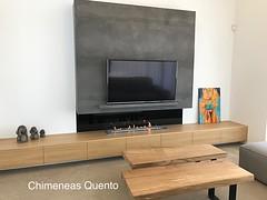 Chimenea Bioetanol Quento con Planika Fla 3 (ChimeneasQuento) Tags: galicia quento diseño salon chimenea bioetanol