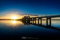 Kincardine Bridge - 28 Oct 2018 - 06 (ibriphotos) Tags: kincardine kincardinebridge goldenhour bluehour river water riverforth reflection blue sunset evening sky sunsets