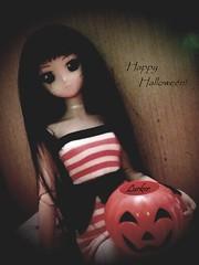 Happy Halloween! (Lurkz D) Tags: spunky lurker doll volks dollfiedream dd custom vinyl halloween spooky