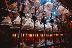 Man Mo temple in Hong Kong (Patrick Foto ;)) Tags: ancient asia belief buddha buddhism buddhist burn ceiling china chinese coil culture east faith fire fortune history hong hongkong hope incense interior kong light luck man meditation mo monument offering oriental pray prayer red religion religious scent shrine smell smoke stick success temple tour tourism travel wealth wish worship worshiping hk