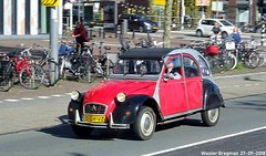 Citroën 2CV 1987 (XBXG) Tags: 12ghvz citroën 2cv 1987 citroën2cv 2pk eend geit deuche deudeuche 2cv6 red rood rouge piet heinkade amsterdam nederland holland netherlands paysbas vintage old classic french car auto automobile voiture ancienne française vehicle outdoor