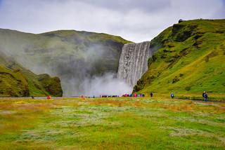 Skógafoss Waterfall - Gönguleið um Fimmvörðuháls Iceland