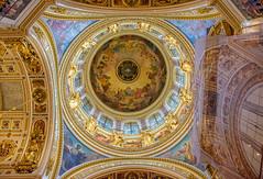 Interior de la Catedral de San Isaac (Javier Orellana, Naturaleza y Wild Life) Tags: rusia sanktpeterburg sanpetersburgo catedraldesanisaac cupula nikond7200 nikon