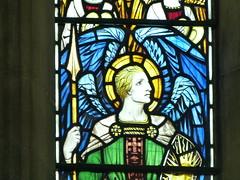 Church - St Chad, Poulton le Fylde 180703 [Stained Glass Window 4b] (maljoe) Tags: church churches stchad stchadpoultonlefylde stainedglass stainedglasswindows stainedglasswindow