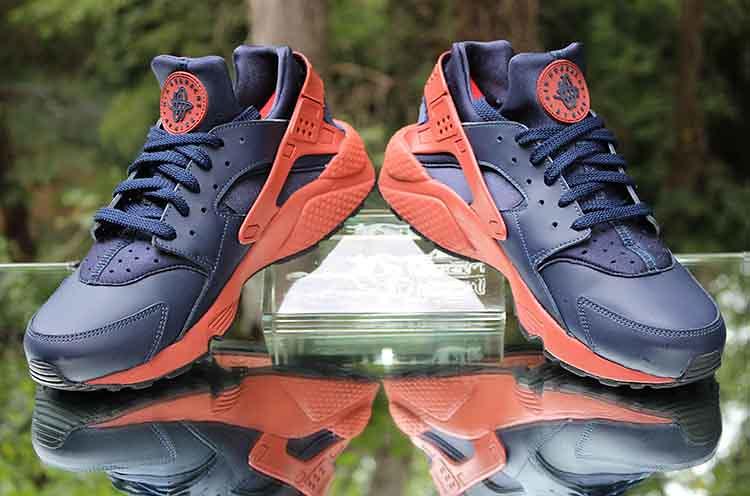 """size 40 d733c 3cd35 Nike Air Huarache """"Mars Stone"""" 318429-417 Obsidian Black Mens Size 11.5 ("""